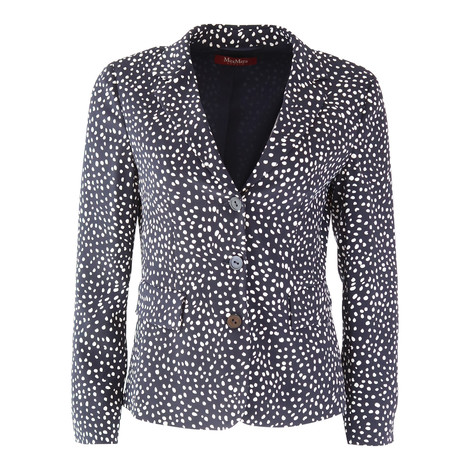 Maxmara Studio Polka Dot Jacket