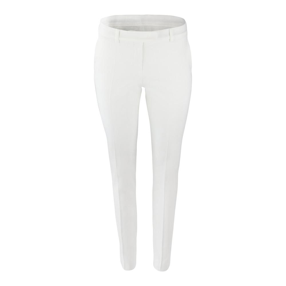 Maxmara Studio Straight Leg Trouser Off White