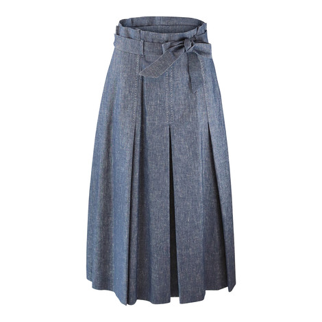 Maxmara Studio Denim Aline Skirt
