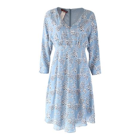 Maxmara Studio Pale Blue Floral Dress