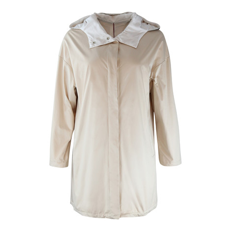 Maxmara Studio Beige Showerproof Reversible Jacket