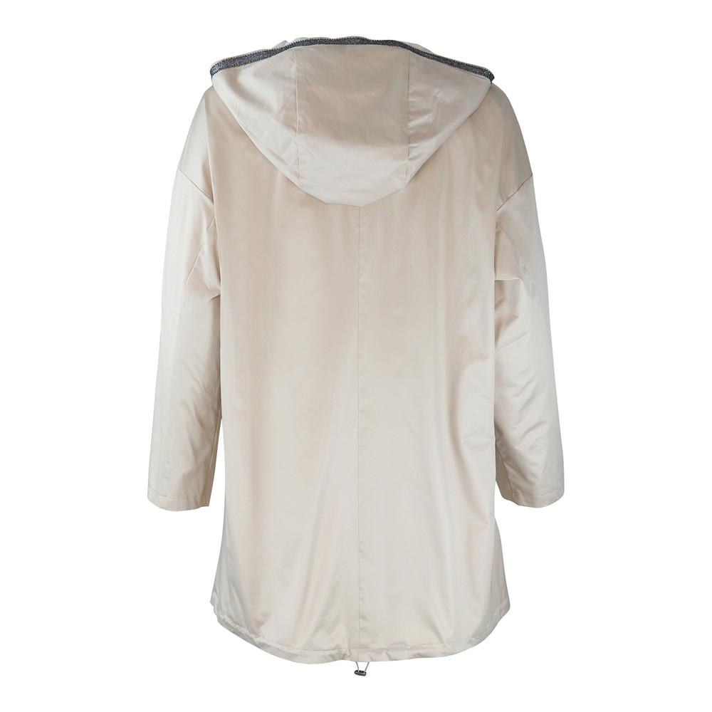 Maxmara Studio Beige Showerproof Reversible Jacket Beige