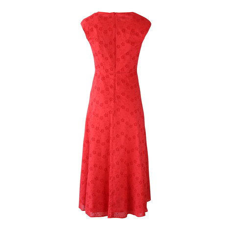 Maxmara Studio Embroidery Anglaise Dress