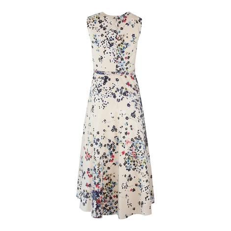 Maxmara Studio Sleeveless V-Neck Floral Dress