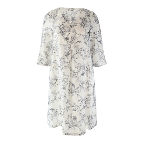 Maxmara Studio Linen Oversized Dress