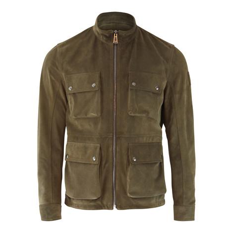 Belstaff New Brad Suede Jacket