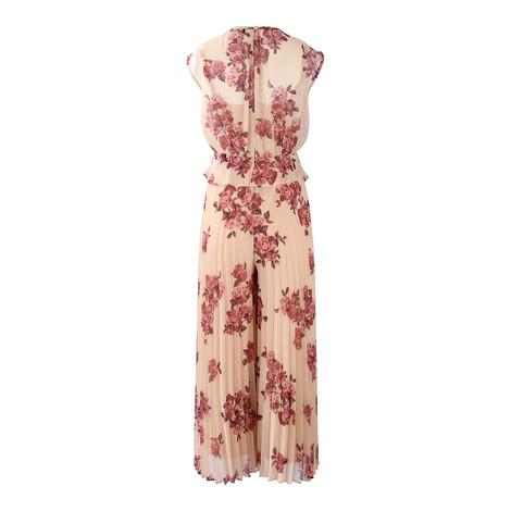 Marella Cap Sleeve Floral Jumpsuit