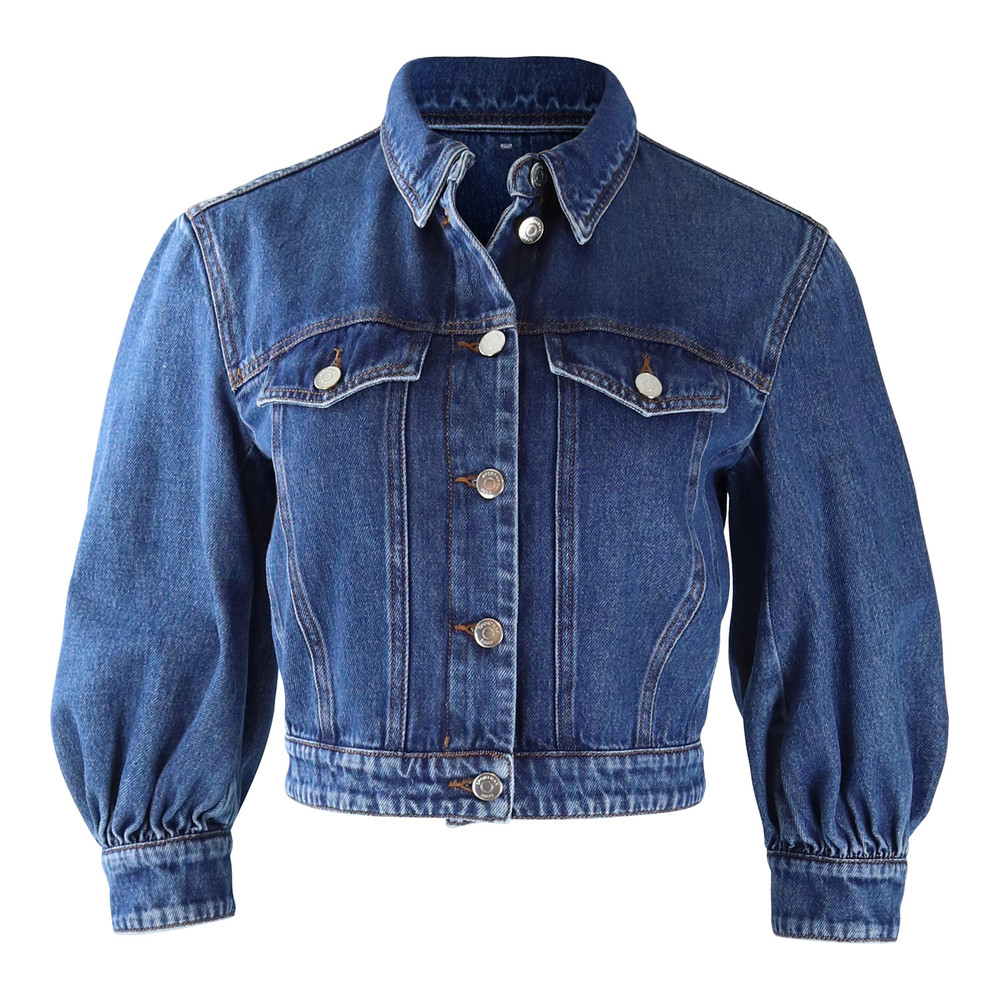 Sportmax Code Denim Jacket Denim