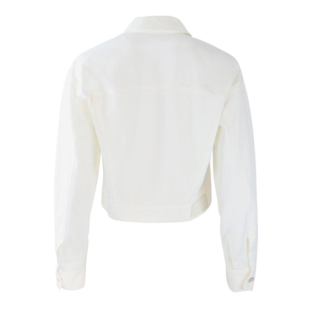 Sportmax White Denim Jacket White