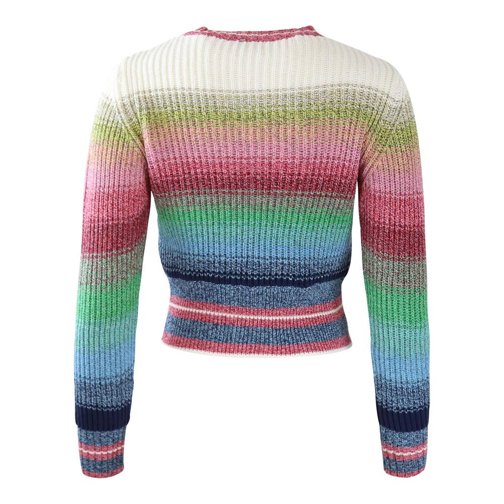 Sportmax Code Pastel Striped Knit Multi
