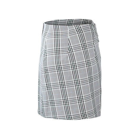 Sportmax Code Prince of Wales Check Frill Skirt