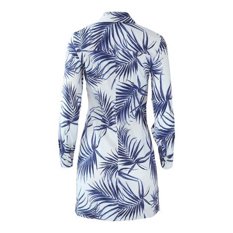 Sportmax Code Longsleeve Fitted Shirt Dress
