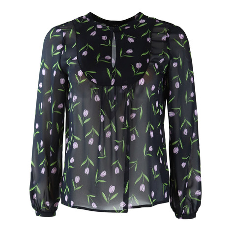 Set Tulip Print Blouse