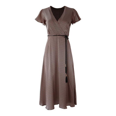 Marella Herringbone Dress