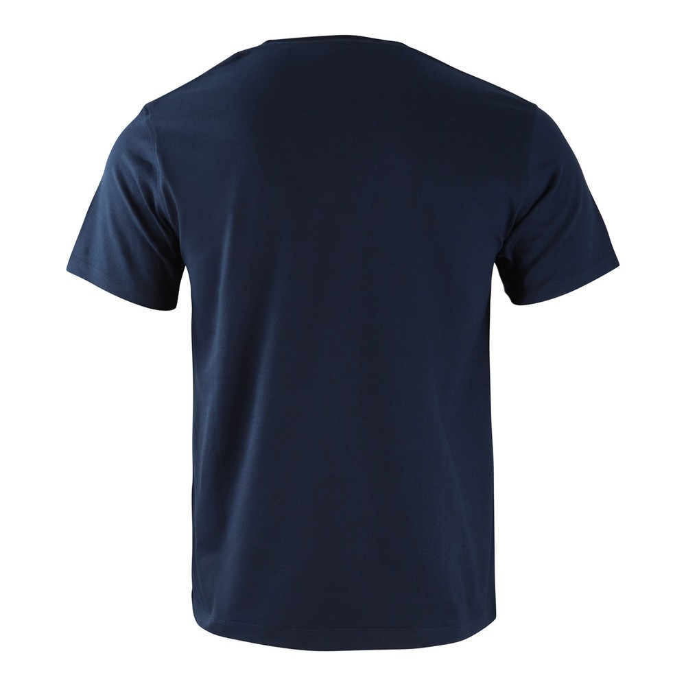 Hackett Refined Linen Tee Navy