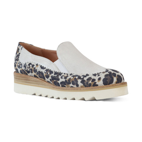 Aristocrat Animal Print Chunky Loafer