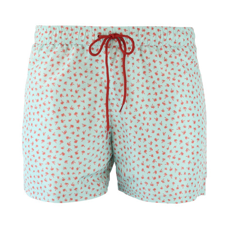 PS Paul Smith Palm Print Swim Short