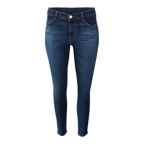 J Brand Alana High Rise Crop Skinny Ecowash Arcade Jean