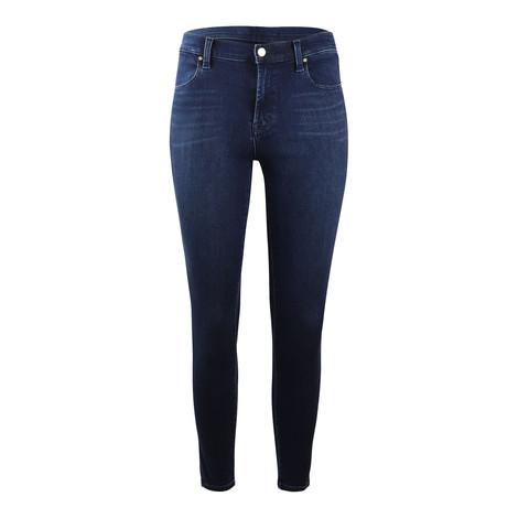 J Brand Alana Highrise Skinny Crop Fix Jean