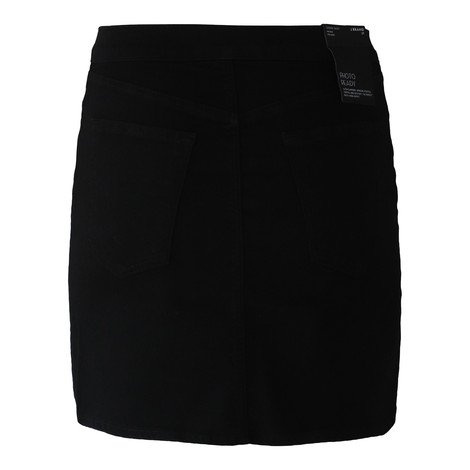 J Brand Sabine Mid Rise Mini Photo Ready Vendetta Skirt