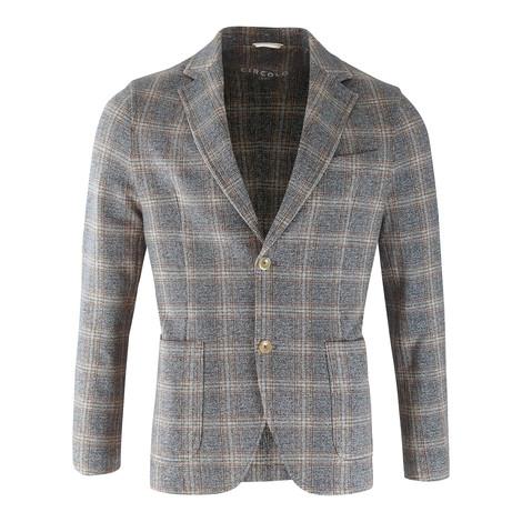 Circolo Giacca Felpa Check Jacket