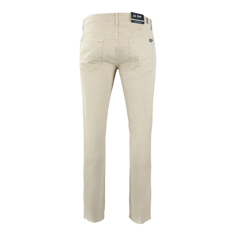 7 For All Mankind Slimmy Light Weight Dove Beige