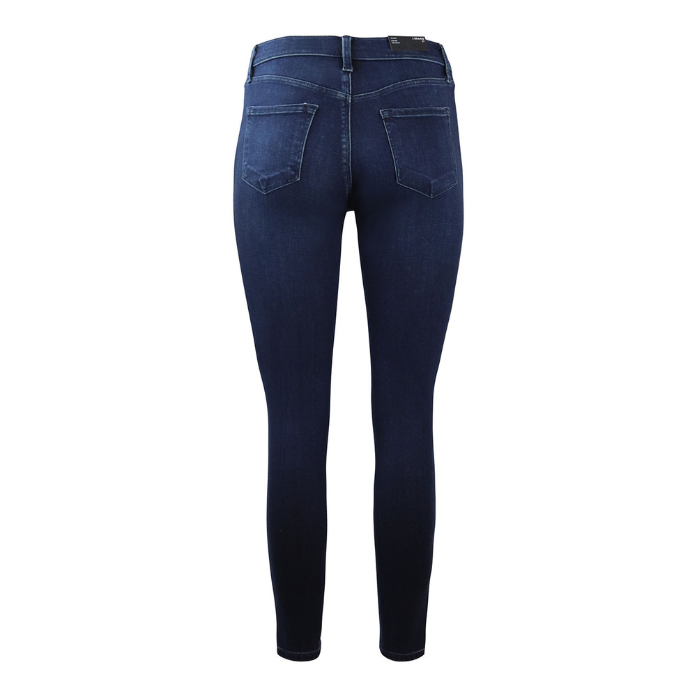 J Brand Alana Highrise Skinny Crop Fix Jean Dark Denim