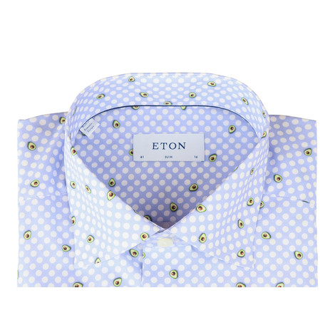 Eton Slim Fit Poplin Shirt