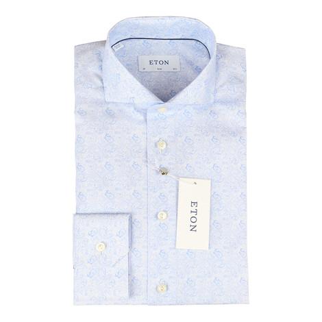 Eton Slim Fit Poplin Shirt