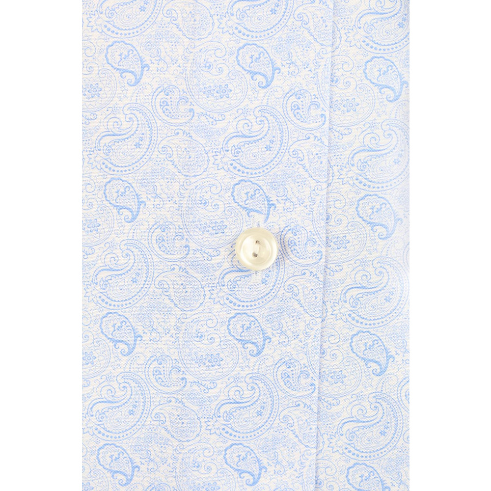 Eton Slim Fit Poplin Shirt Blue