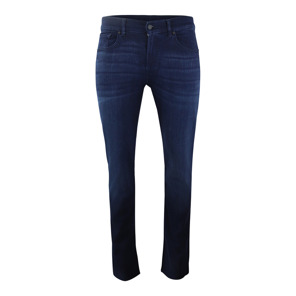 7 For All Mankind Slimmy Luxe Performance Plus Deep Blue Deep Blue