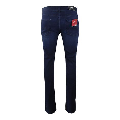7 For All Mankind Menswear Slimmy Luxe Performance Plus Deep Blue