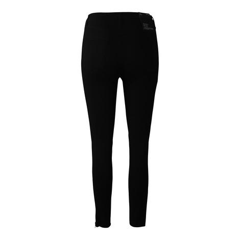 J Brand Alana High Rise Crop Skinny Vanity Zip Detail Jean
