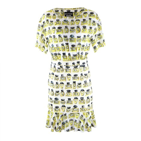 Moschino Boutique Perfume Bottle Combi Dress