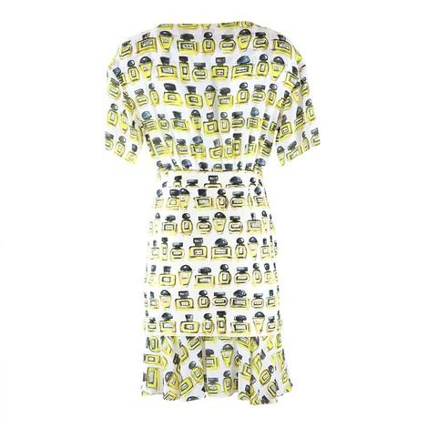 Moschino Boutique Perfume Bottle Combi Dress