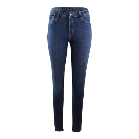 J Brand Ruby Highrise Cigarette Leg Reprise Jean