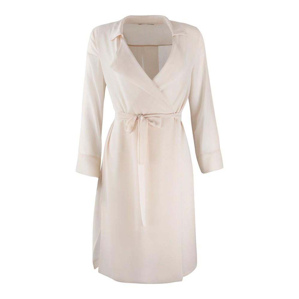 Marella Chiffon Coat Blush