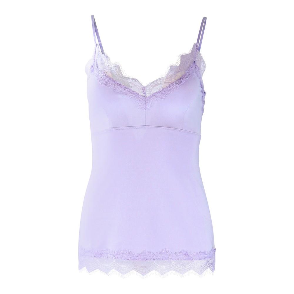 Set Lace Cami Lilac