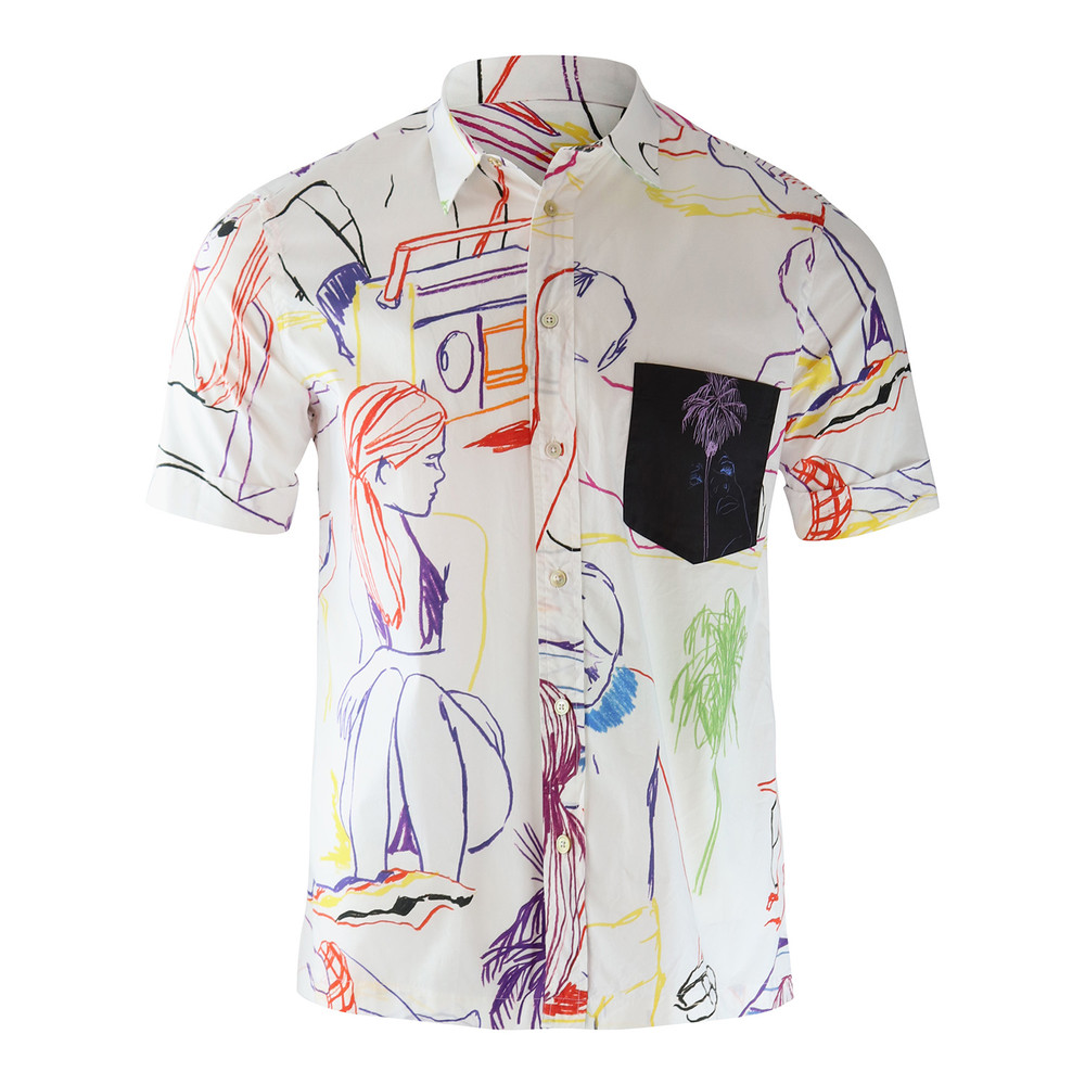 Paul Smith Gents S/S Tailored Shirt White