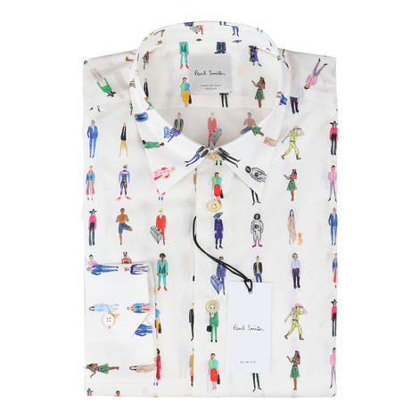Paul Smith Gents S/S Slim Shirt