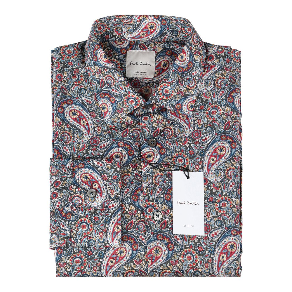 Paul Smith Gents S/C Slim Shirt Multi