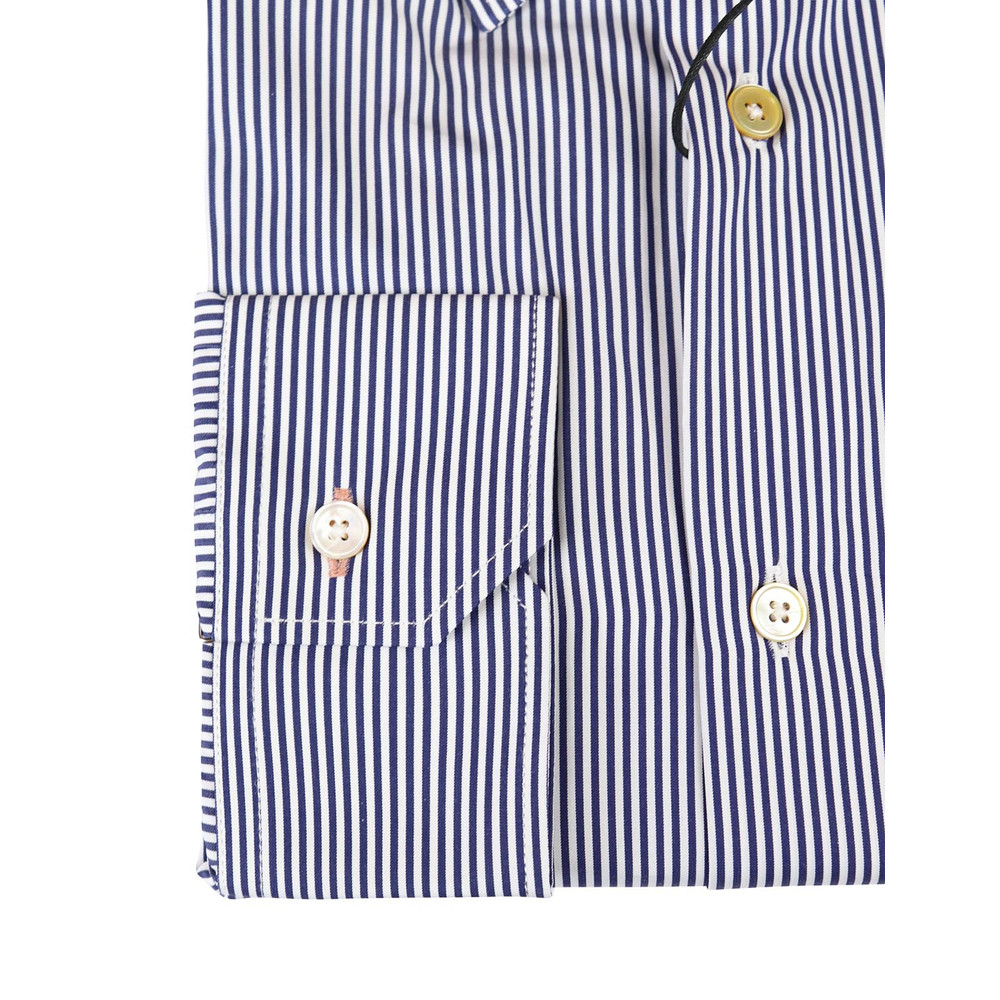 Paul Smith Gents S/C Slim Shirt Blue Stripe
