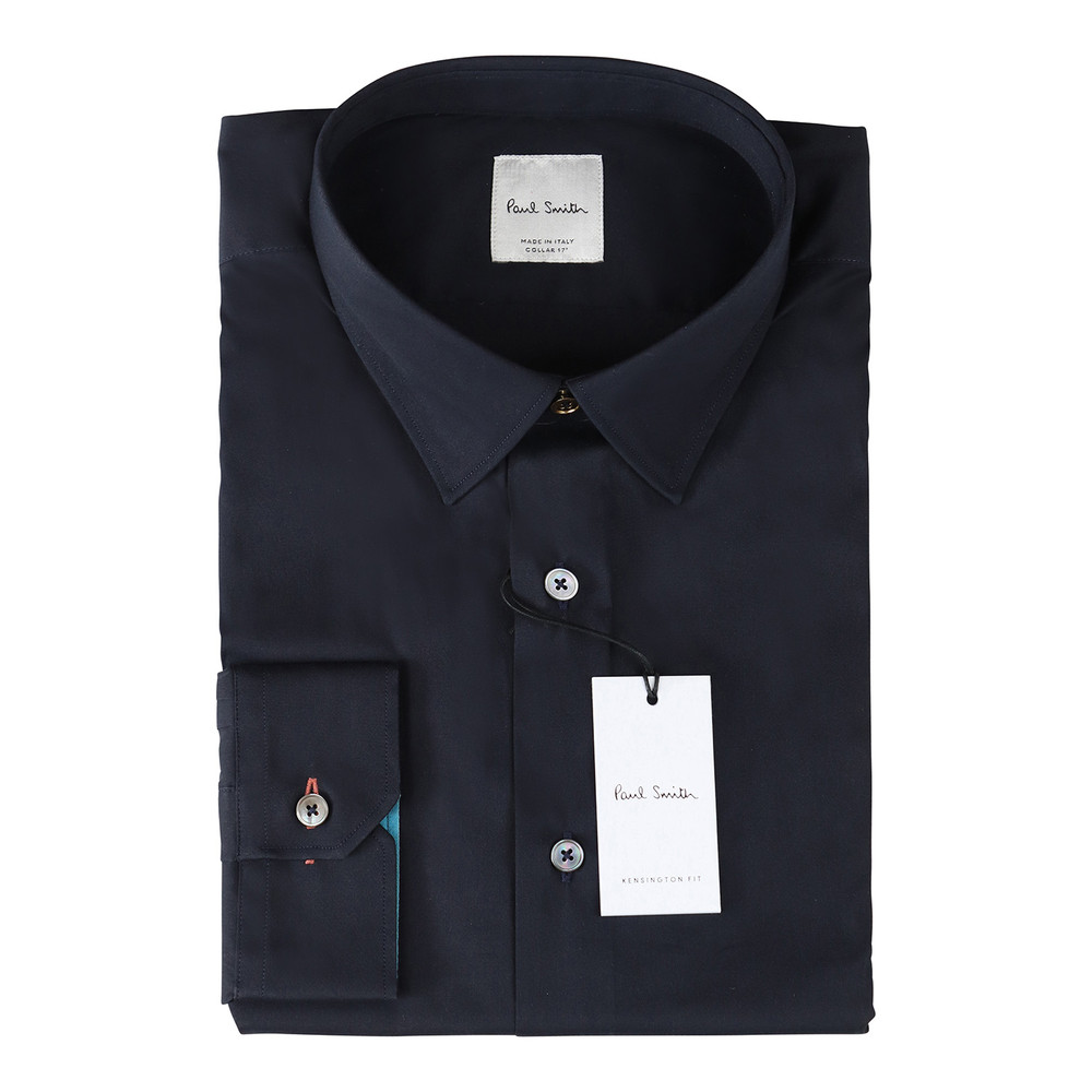 Paul Smith Gents Formal Shirt Super Slim Navy