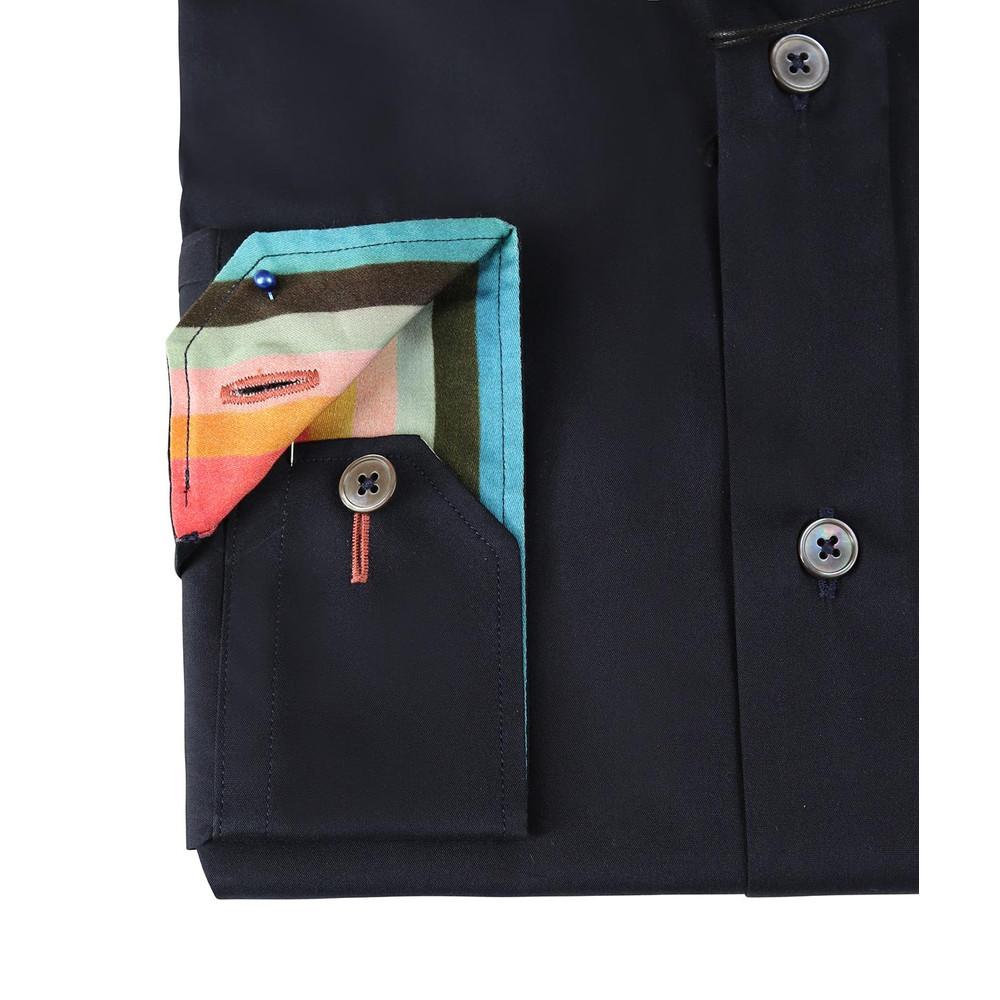 Paul Smith Gents Formal Shirt Super Slim Navy