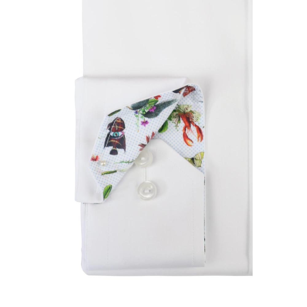 Eton Contemporary Poplin Shirt White