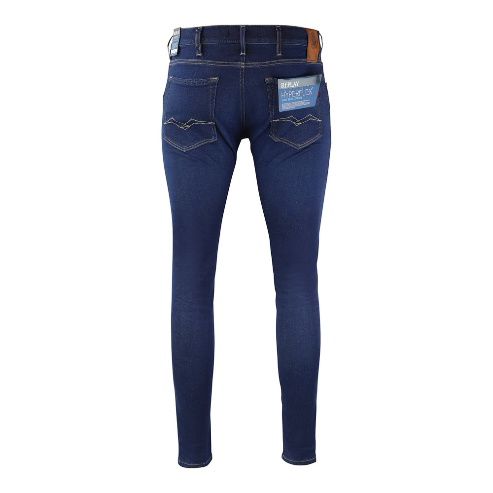 Replay Jondrill Rinsed Hyperflex Stretch Denim Dark Blue
