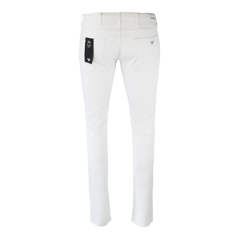 Emporio Armani J06 Slim fit Jean Off White