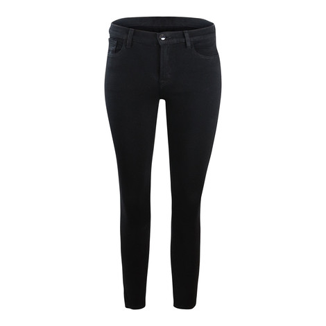 J Brand 835 Midrise Cropped Skinny Leg Nevermore Jean