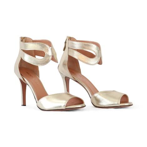 Aristocrat Peep Toe Ankle Strap Sandal