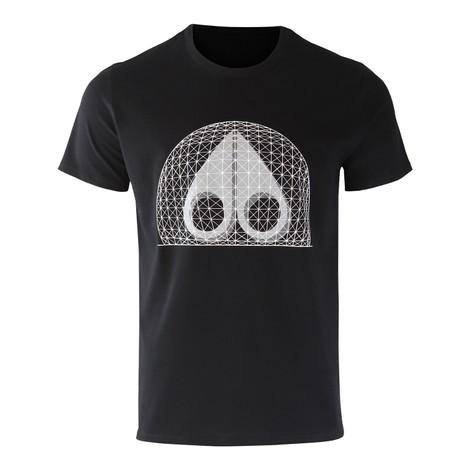 Moose Knuckles Biosphere Tshirt - Black